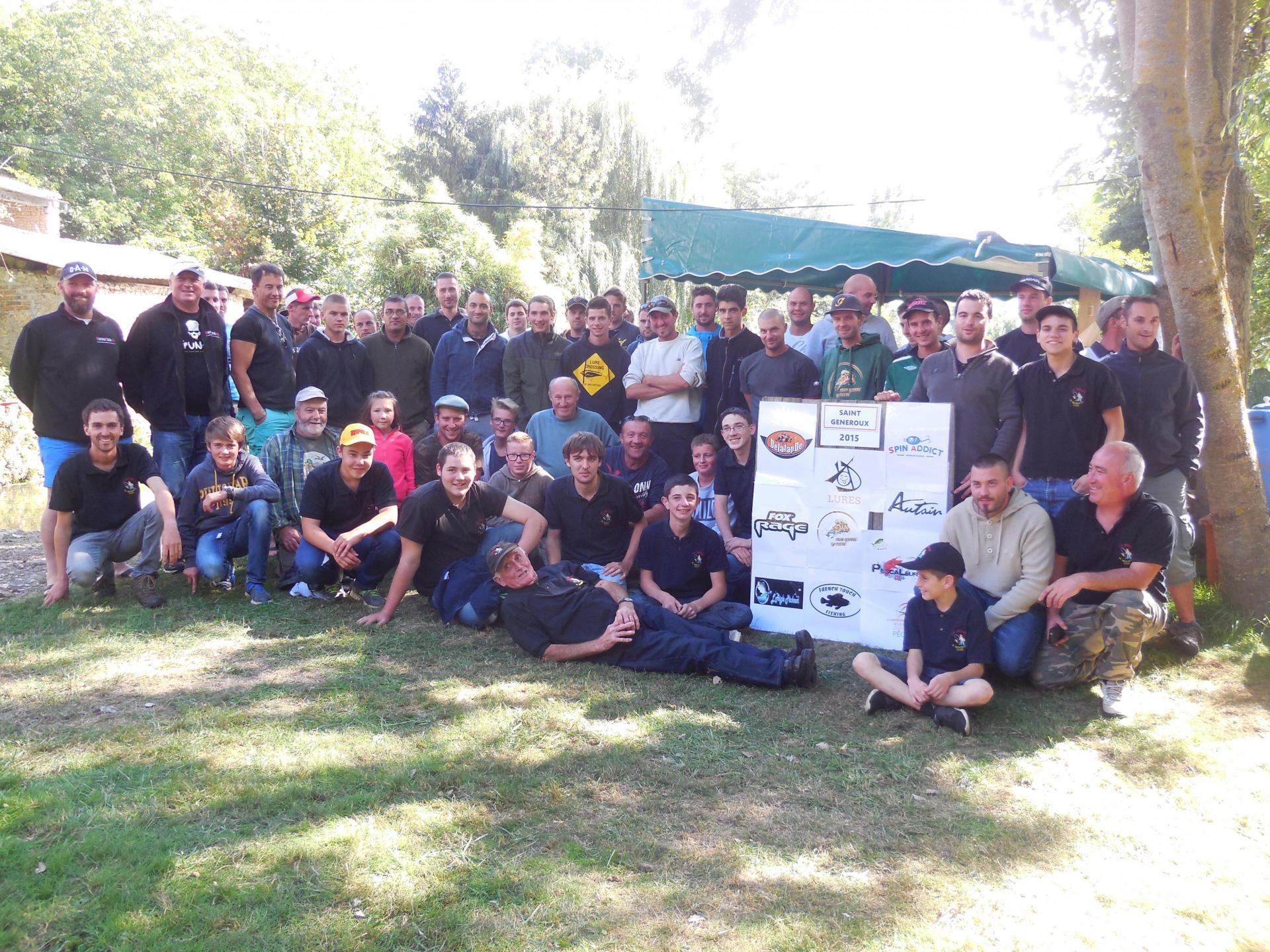 Compétition pêche aux leurres 2015