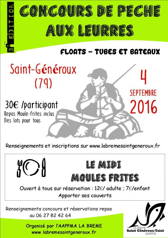Affiche concours carnassiers st generoux 2016